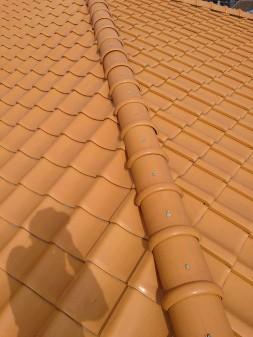 板橋区の高島平で雨漏り修理工事_c0223192_22163180.jpg