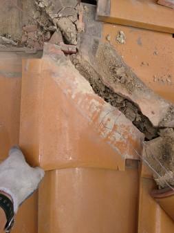 板橋区の高島平で雨漏り修理工事_c0223192_2218087.jpg