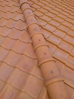 板橋区の高島平で雨漏り修理工事_c0223192_22195266.jpg