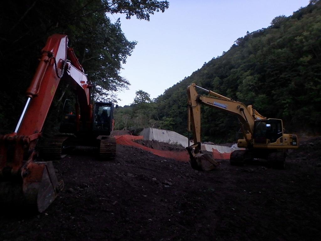 恵庭岳登山口付近の様子-Sさんからの写真-_f0138096_15371728.jpg