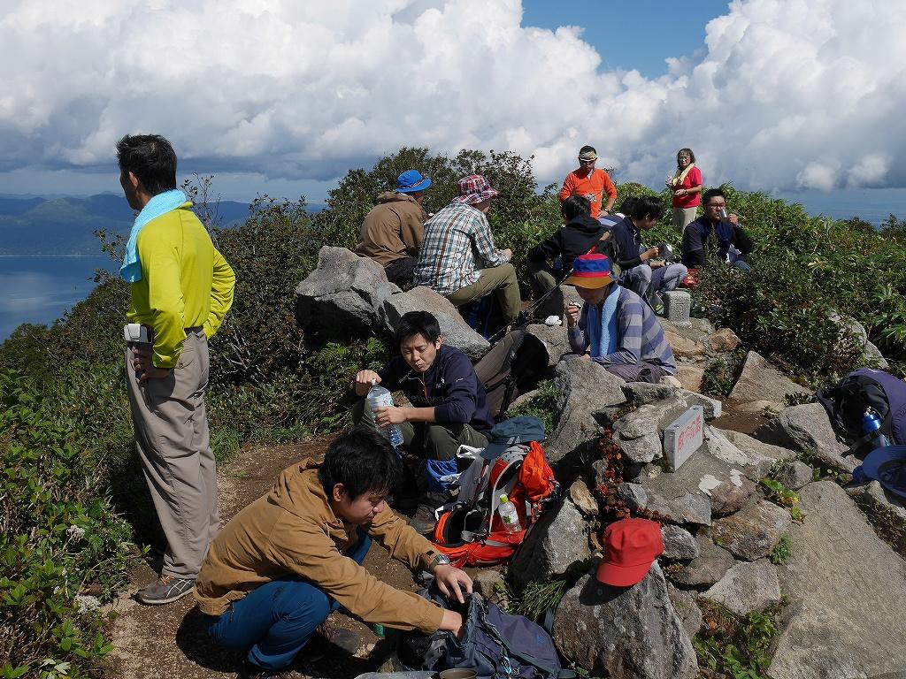 風不死岳北尾根と三の沢偵察、9月14日-速報版-_f0138096_157543.jpg
