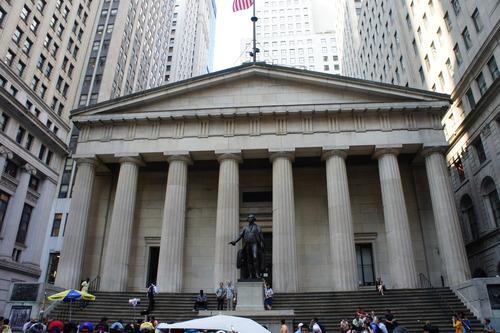 【15年9月NY旅行 ④ウォール街、NY証券取引所、トリニティ教会】_f0215714_17162182.jpg