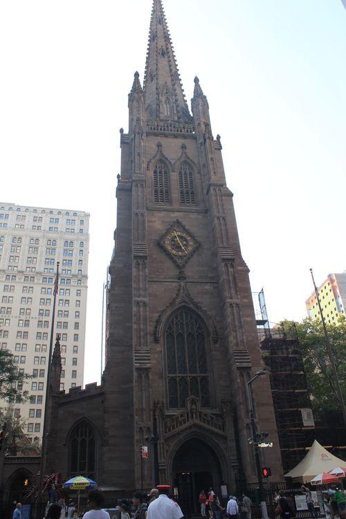 【15年9月NY旅行 ④ウォール街、NY証券取引所、トリニティ教会】_f0215714_17255741.jpg