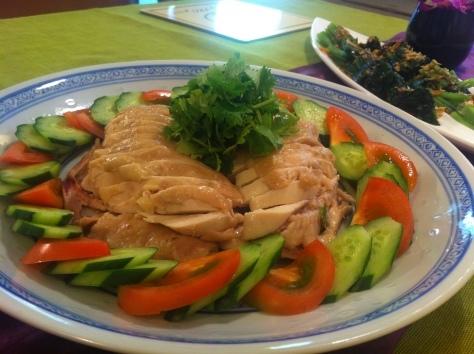 料理教室・・・海南チキンライス 丸鶏さばき実習も♪_f0141419_08205555.jpg