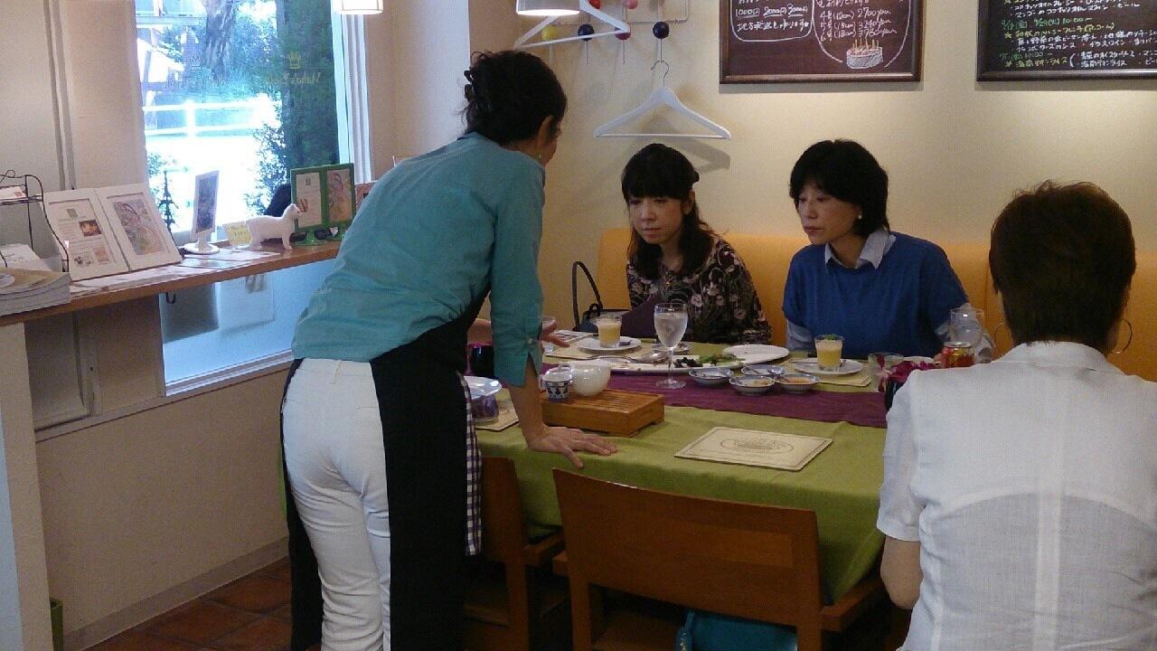 料理教室・・・海南チキンライス 丸鶏さばき実習も♪_f0141419_08212923.jpg