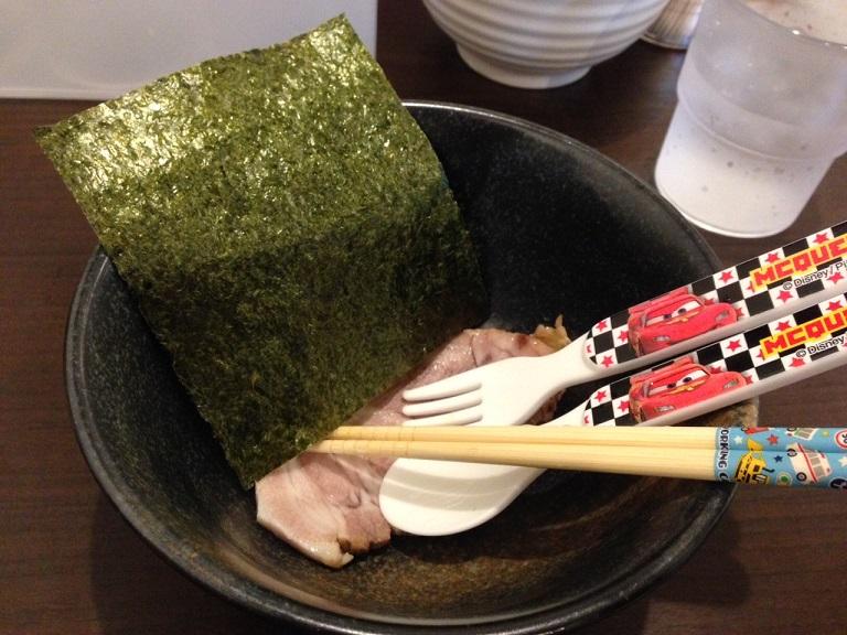横浜家系ラーメン「黒帯」 食ブログ♪_f0191324_982433.jpg