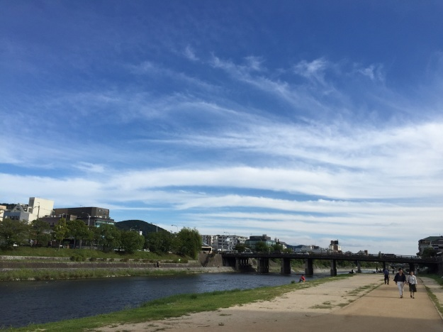 blog:鴨川のほとりを #京都_a0103940_09210439.jpg