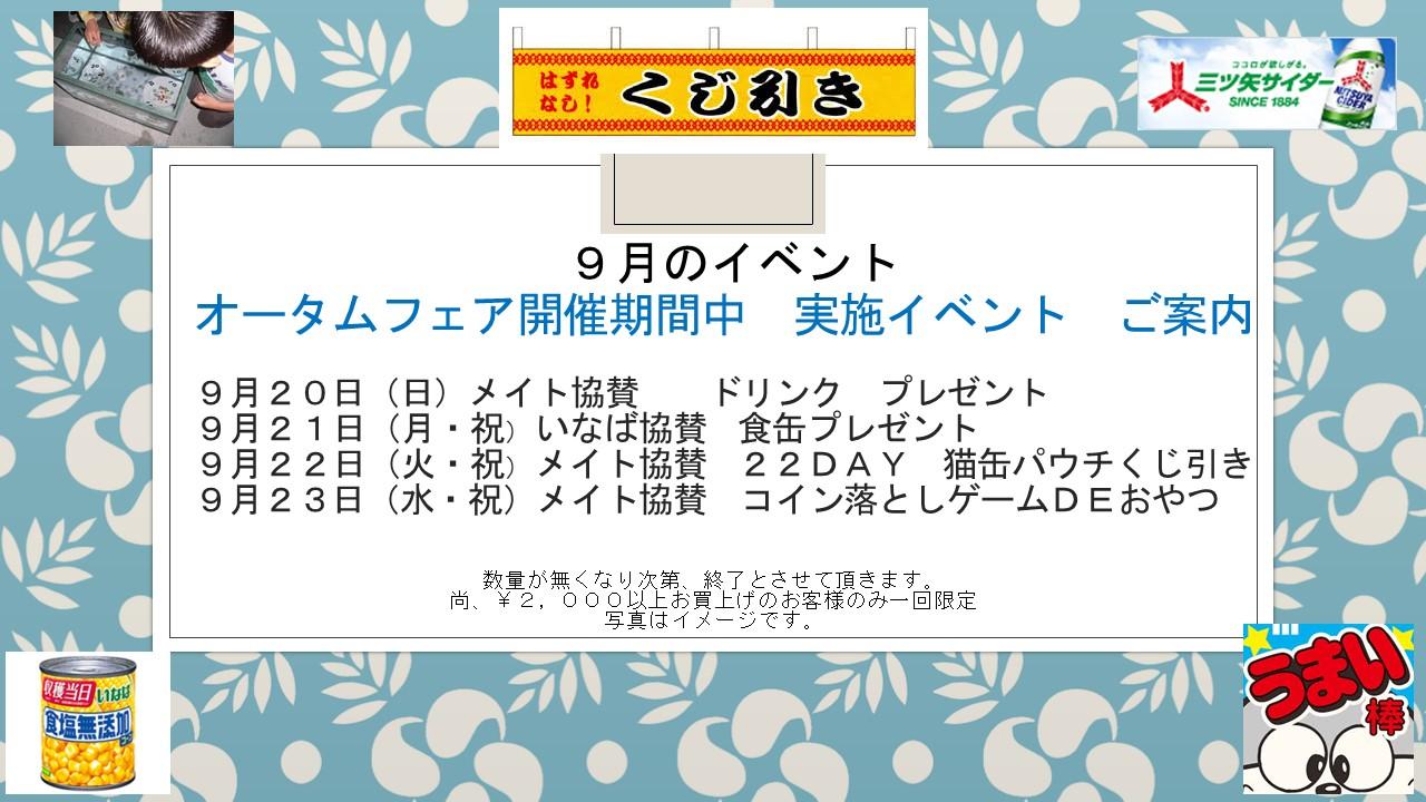 150915 オータムフェア&各種イベント案内_e0181866_992686.jpg