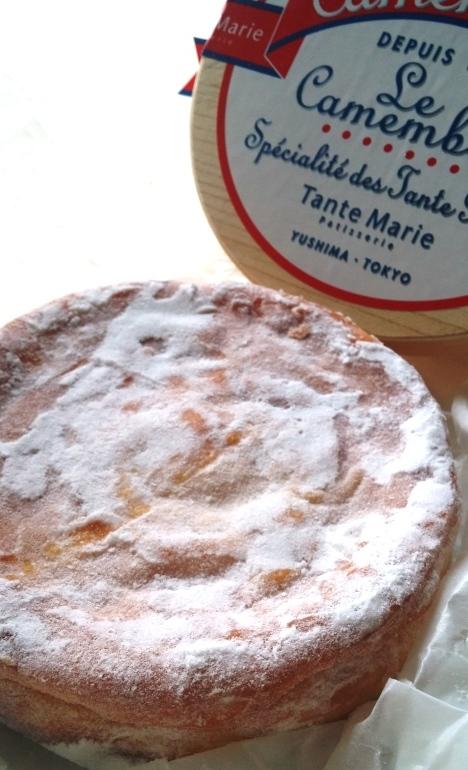 カマンベールチーズケーキ_e0148373_15501503.jpg