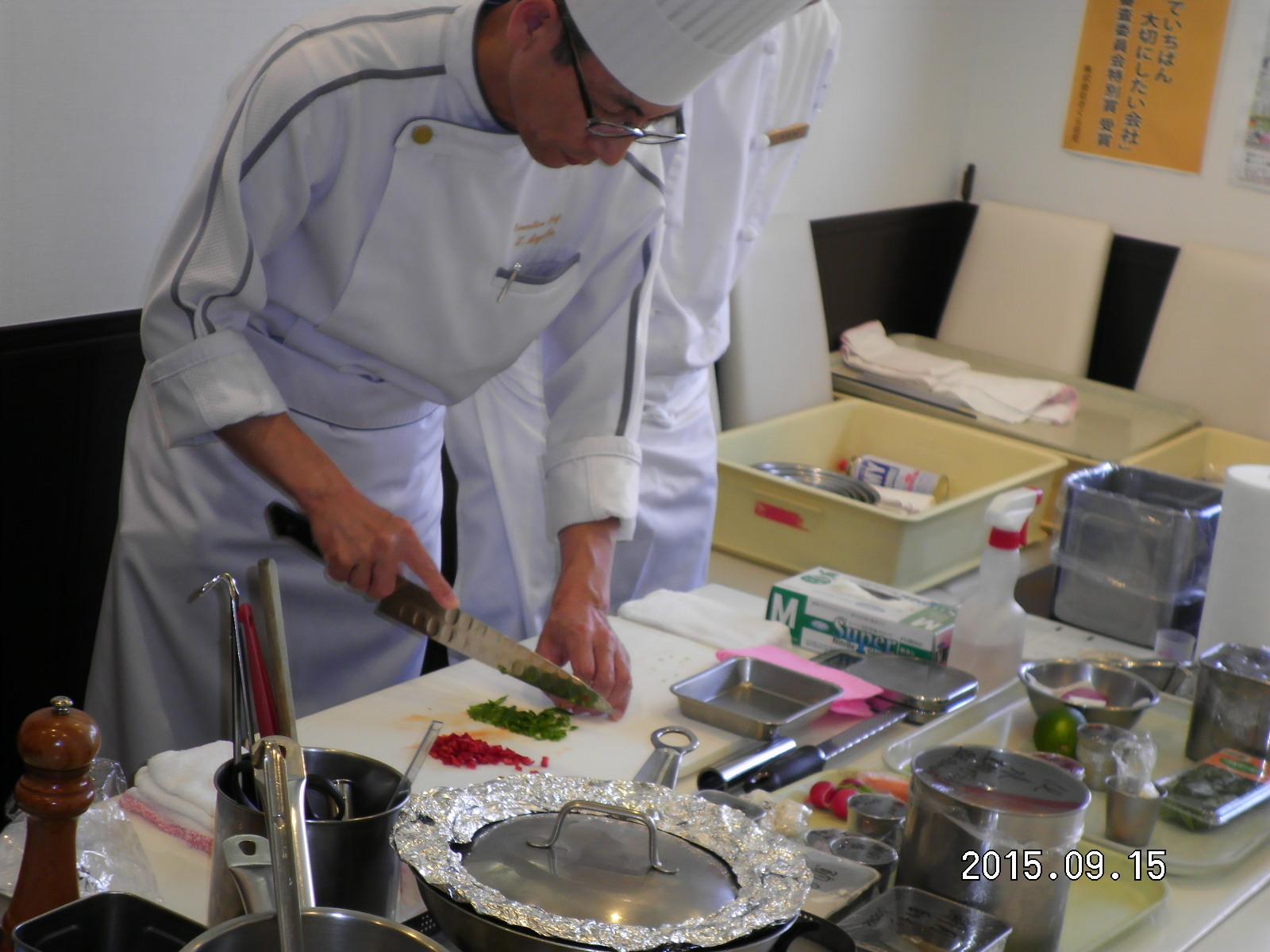 第53回 お料理教室_e0190287_2093980.jpg