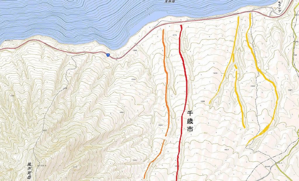 風不死岳三の沢、9月14日_f0138096_10243489.jpg