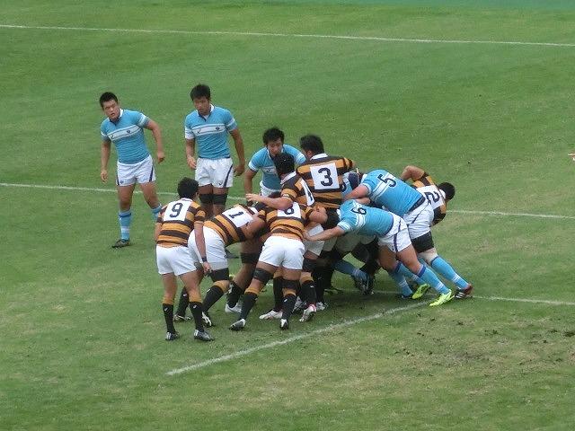 3年ぶりのラグビー生観戦 「慶応VS筑波」_f0141310_84288.jpg