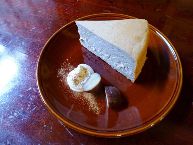 マロン チーズケーキ_e0230141_20103760.jpg