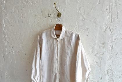Linen&Hemp old grand-pa shirts_f0226051_16192732.jpg