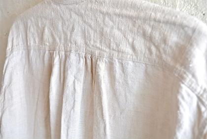 Linen&Hemp old grand-pa shirts_f0226051_16195819.jpg