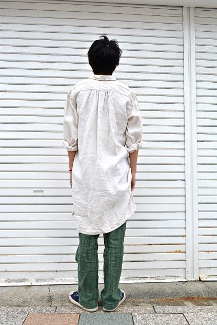 Linen & Hemp Grand-pa shirts snaps_f0226051_21241644.jpg