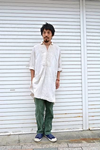 Linen & Hemp Grand-pa shirts snaps_f0226051_215372.jpg