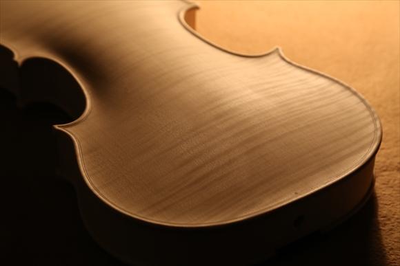 ホワイトヴァイオリン、秋に向けて。_d0047461_544942.jpg