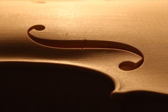 ホワイトヴァイオリン、秋に向けて。_d0047461_565053.jpg