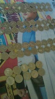 タロさの500円玉貯金_f0168392_20570244.jpg