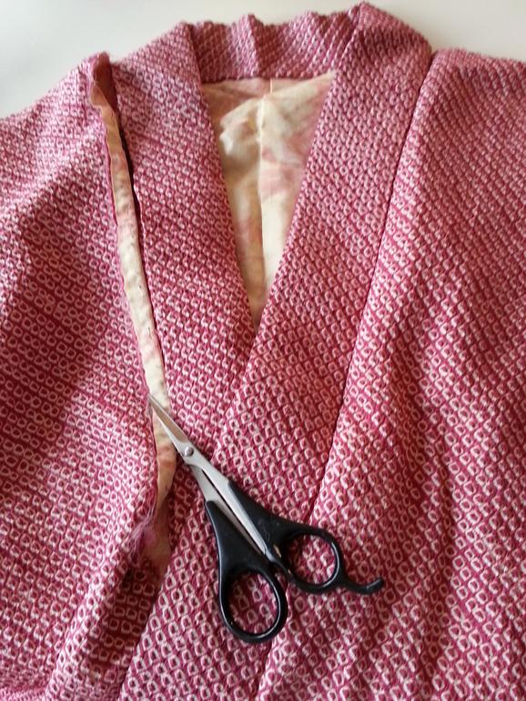 形見の絞りの羽織で_a0200214_1543891.jpg