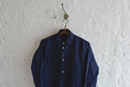 linen&hemp grand-pa shirts over dyed_f0226051_17351360.jpg