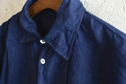 linen&hemp grand-pa shirts over dyed_f0226051_17414250.jpg