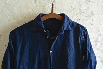 linen&hemp grand-pa shirts over dyed_f0226051_17454170.jpg