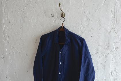 linen&hemp grand-pa shirts over dyed_f0226051_17465463.jpg