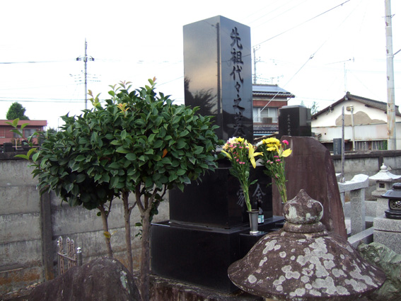 金鶴泳の墓所に参りました。_c0154961_15193287.jpg