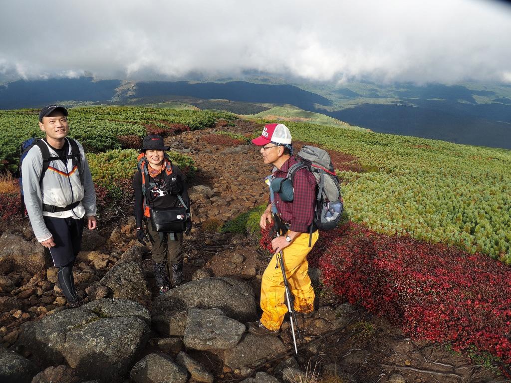 紅葉登山で驚きの出会い、9月16日_f0138096_10525078.jpg