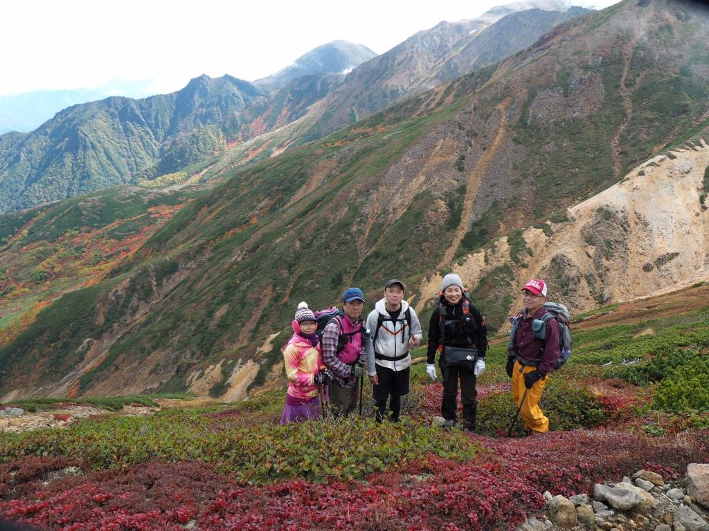 紅葉登山で驚きの出会い、9月16日_f0138096_10534565.jpg