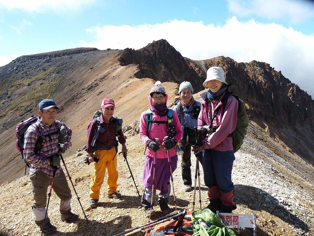 紅葉登山で驚きの出会い、9月16日_f0138096_10544211.jpg