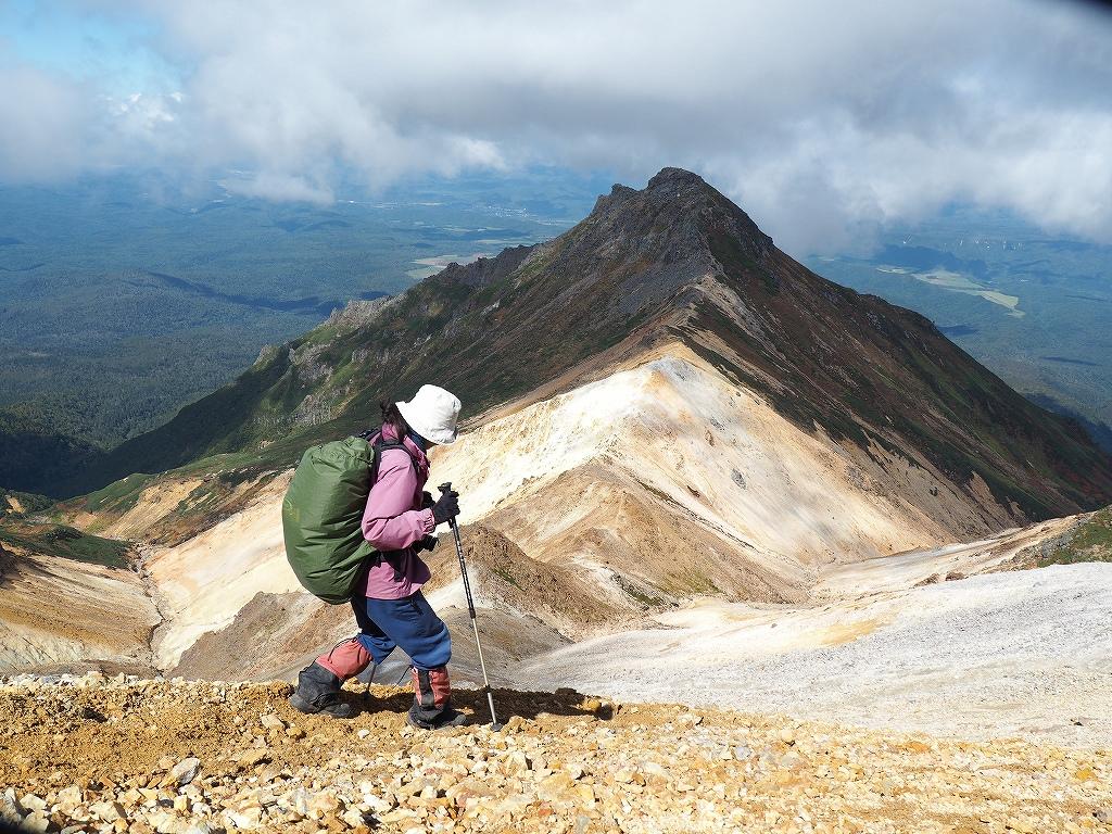 紅葉登山で驚きの出会い、9月16日_f0138096_10545756.jpg