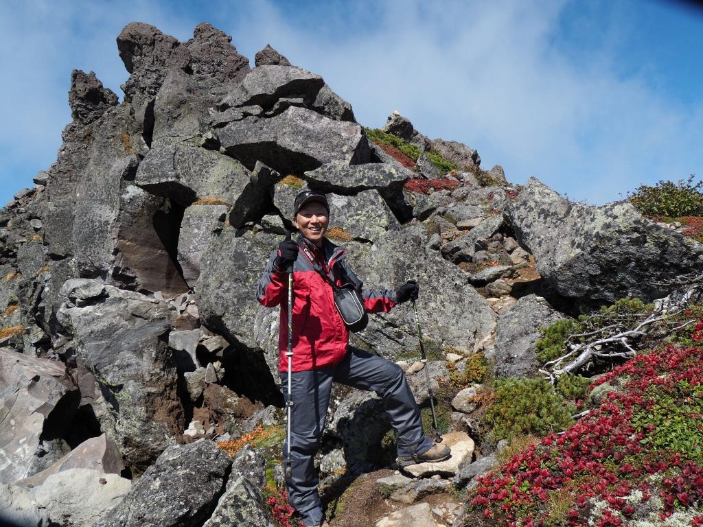 紅葉登山で驚きの出会い、9月16日_f0138096_105462.jpg