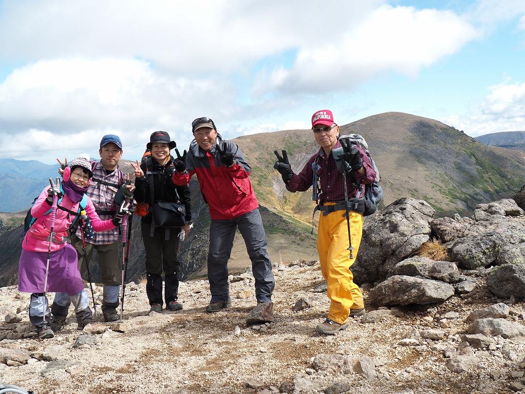 紅葉登山で驚きの出会い、9月16日_f0138096_10552640.jpg