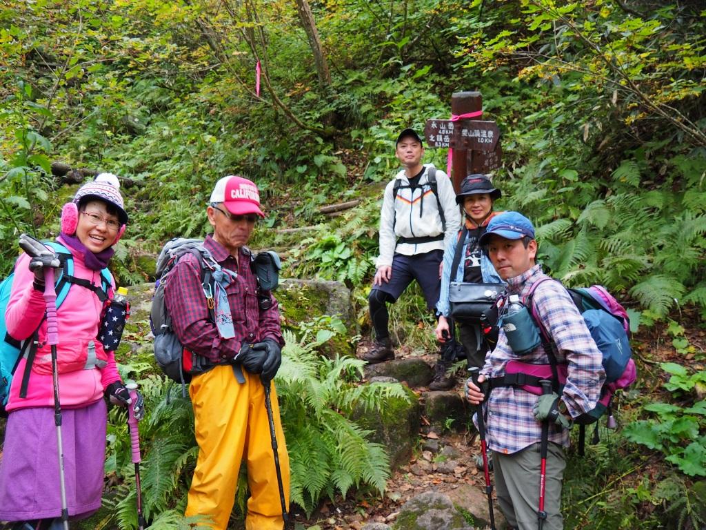 紅葉登山で驚きの出会い、9月16日_f0138096_10555261.jpg