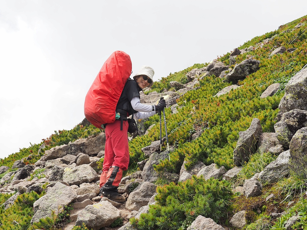 紅葉登山で驚きの出会い、9月16日_f0138096_1055921.jpg
