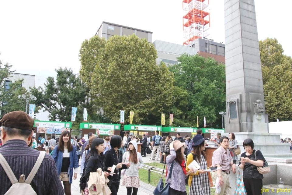 富良野オムカレーとさっぽろオータムフェスト_a0158797_23101030.jpg