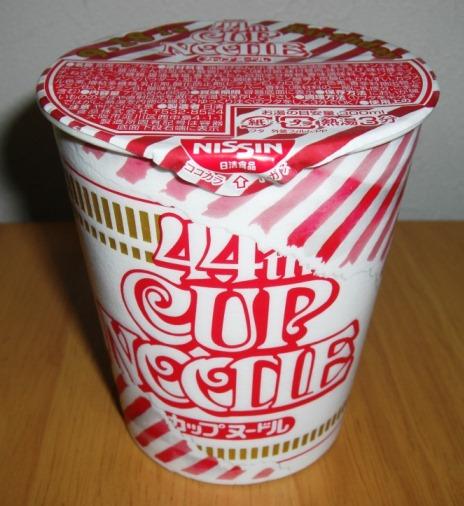 9月18日カップヌードル誕生日に記念パッケージを食す!_b0081121_6381183.jpg