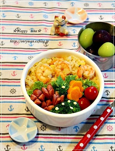 えび炒飯弁当とコストコ~サーモン丼と~♪_f0348032_18512674.jpg