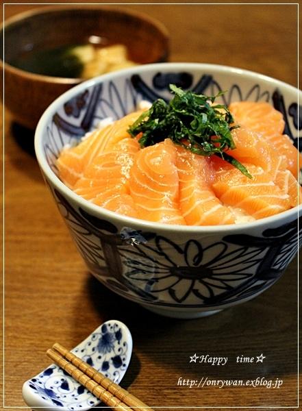 えび炒飯弁当とコストコ~サーモン丼と~♪_f0348032_18515164.jpg