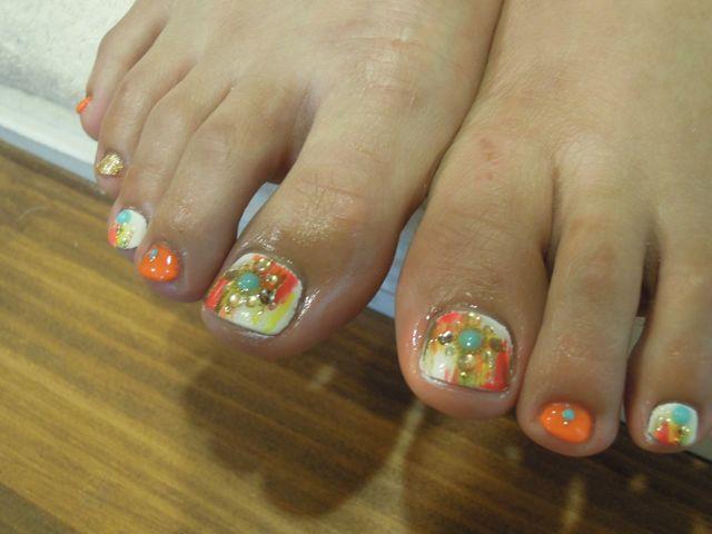 Peint Foot Nail_a0239065_13385819.jpg