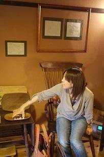 ①「椅子展5」もうひとりの立役者!_f0226293_7544359.jpg