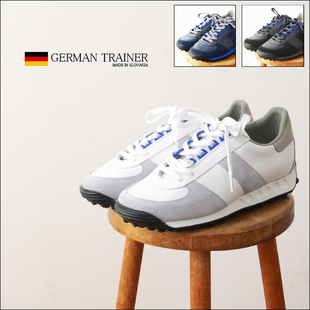GERMAN TRAINER [ジャーマントレーナー] TRAINER SNEAKER D-KAN LEATHER [1476] MEN\'S_f0051306_11220473.jpg