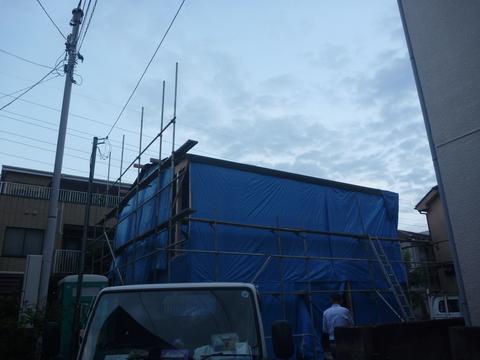 建て方2日目_f0066533_21373512.jpg