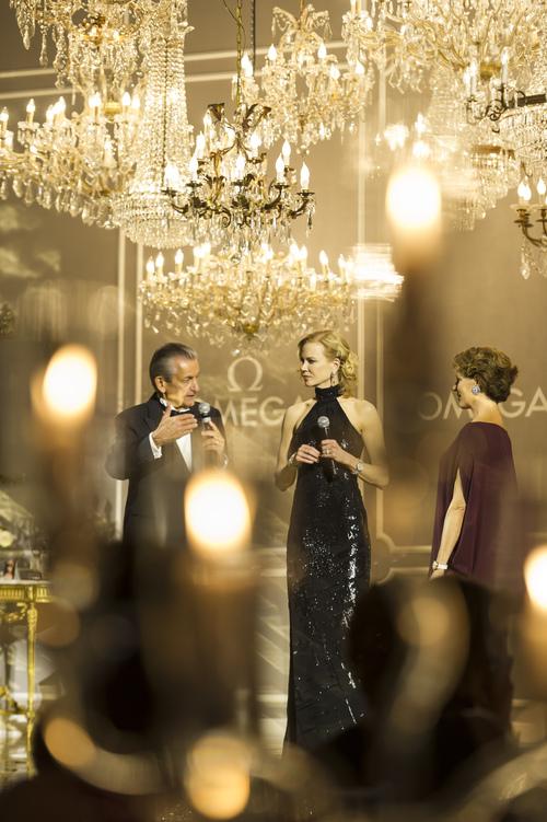 ミラノで開催されたオメガの女性を称えるイベントにニコール・キッドマンが登場_f0039351_08054.jpg
