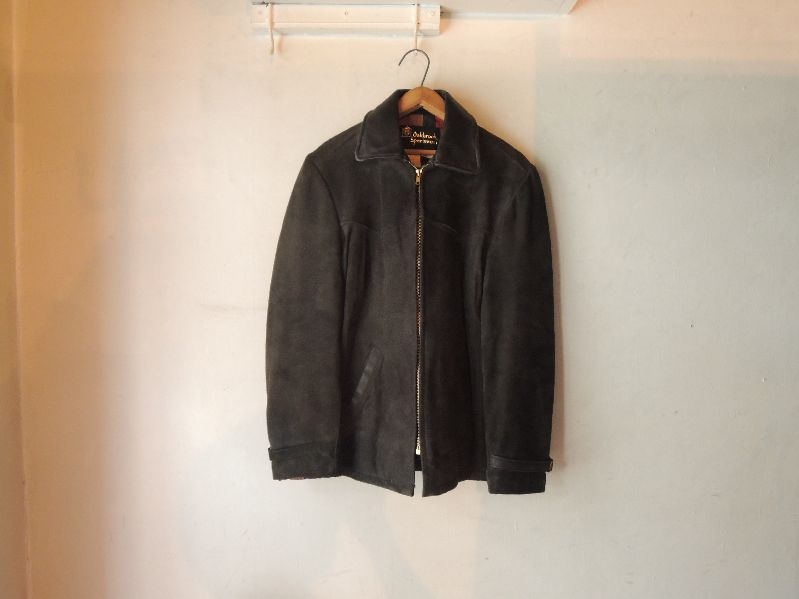 60S OAKBROOK SUEDE LEATHER JACKET--RECOMMEND--_c0176867_12594229.jpg