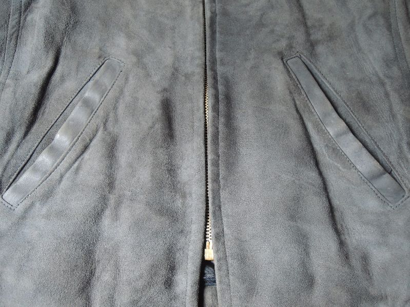 60S OAKBROOK SUEDE LEATHER JACKET--RECOMMEND--_c0176867_1313189.jpg