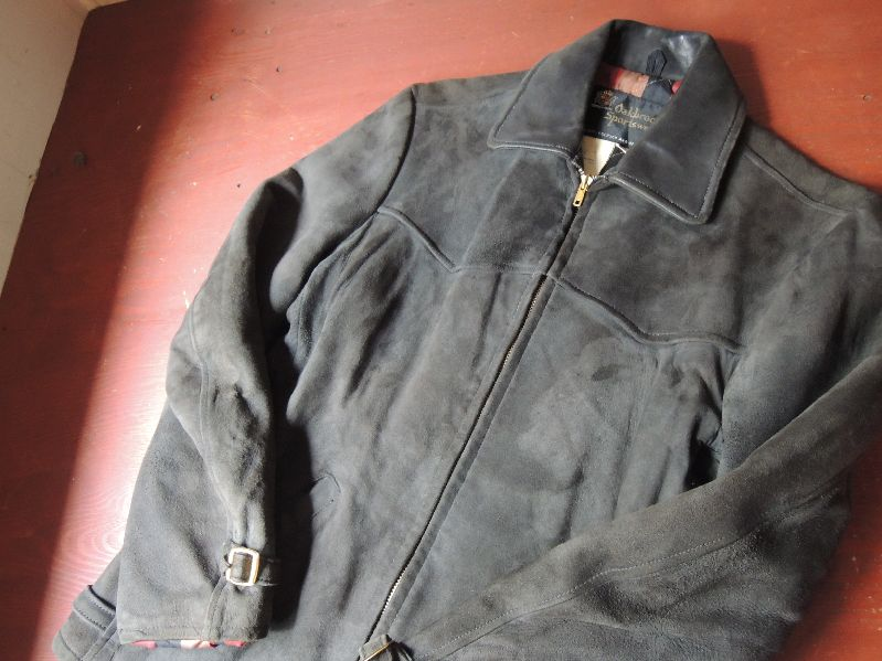 60S OAKBROOK SUEDE LEATHER JACKET--RECOMMEND--_c0176867_1324447.jpg
